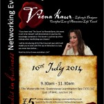 Bindis in Business – Guest Speaker – Veena AmenRa – LOA Life Coach *NEW DATE 10th JULY*